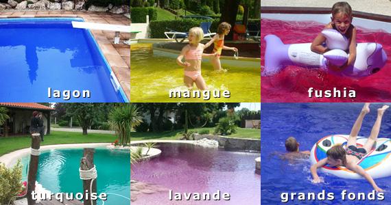colorant d'eau